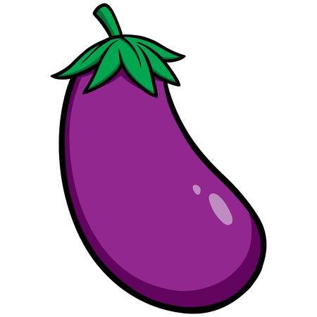 Eggplant Ilustrace