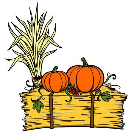 가을 축제 일러스트