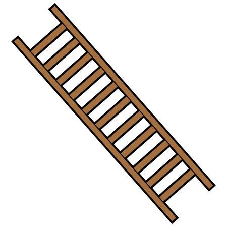 Firefighter Ladder 向量圖像