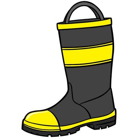 safty: Fireman Boot