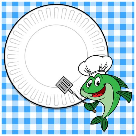 Fish Cookout Invitation