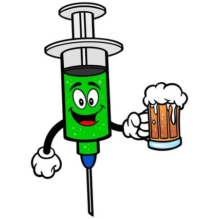 flu shot: Flu Shot with Beer