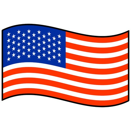 spangled: Flag of United States