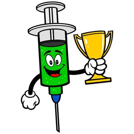 swine flu vaccinations: Flu Shot with Trophy