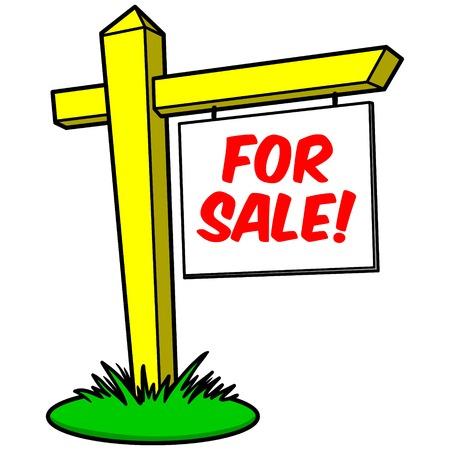 For Sale Ilustração