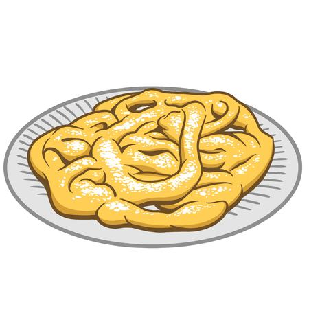 funnel: Funnel Cake