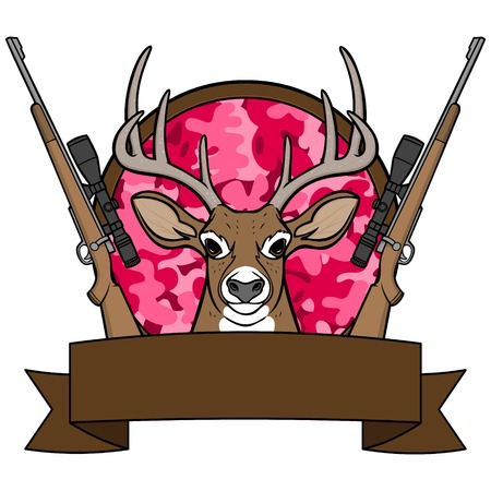 Girl Deer Hunting Camp