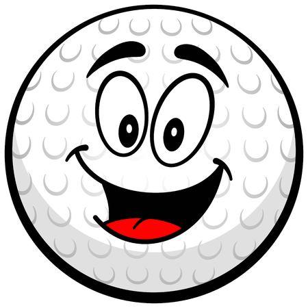 Golf Mascot Illustration