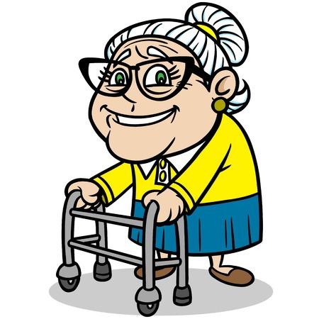 Grandma Reklamní fotografie - 57535287