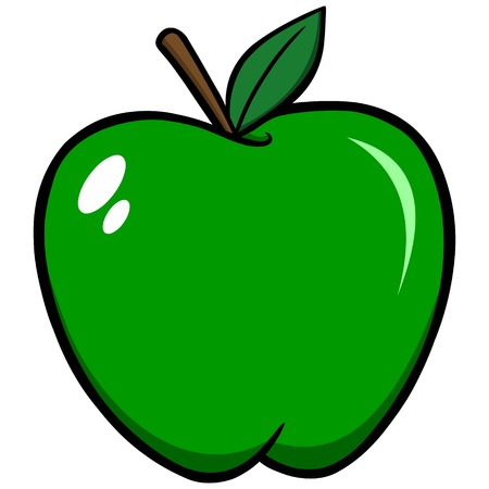 granny smith apple: Green Apple