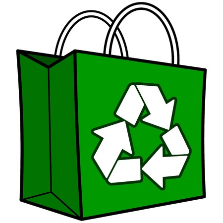 Green Recycle Bag