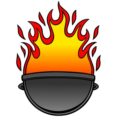 grill: Grill Icon Illustration