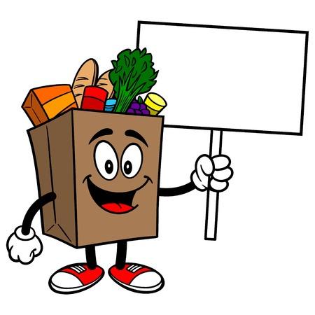 식료품 가방 로그인