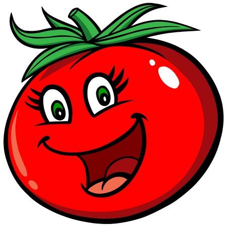 Happy Tomato Ilustrace