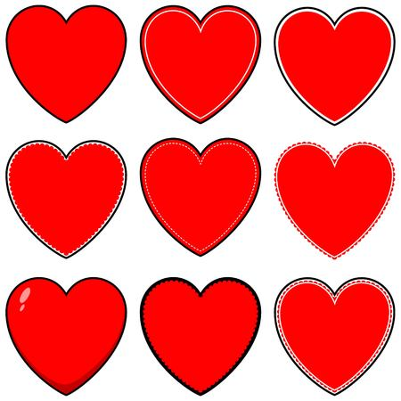 religious celebration: Heart Icons and Symbols