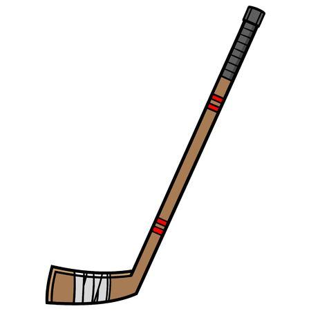 Hockey Stick Ilustração