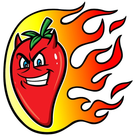 hot pepper: Hot Pepper Illustration
