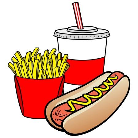 hot dog: Hot Dog Combo