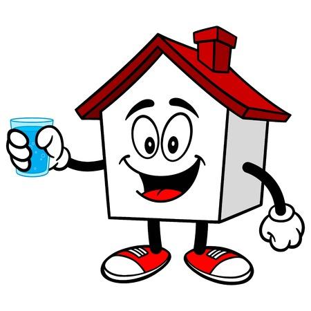 물 한잔과 집