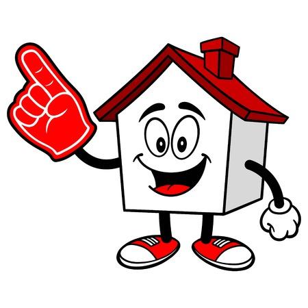 foam finger: House with a Foam Finger