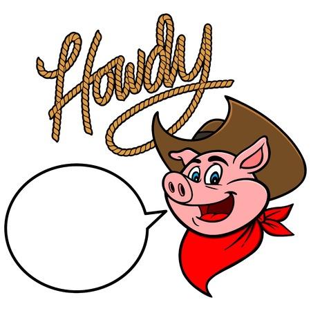 gaucho: Howdy Cowboy Pig