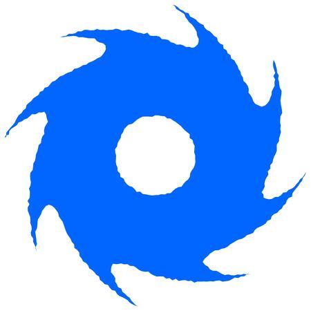 Hurricane Icône Vecteurs