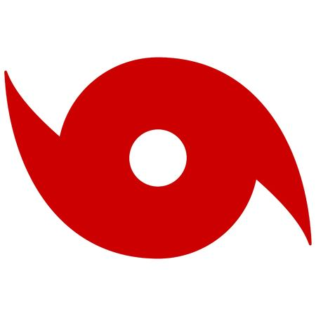 Hurricane Symbol Vettoriali