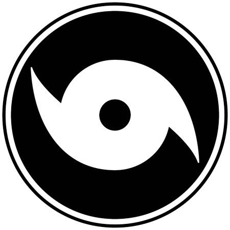 ハリケーン時計シンボル