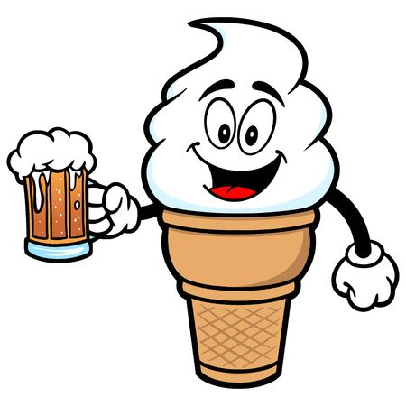 indulgence: Ice Cream with Beer