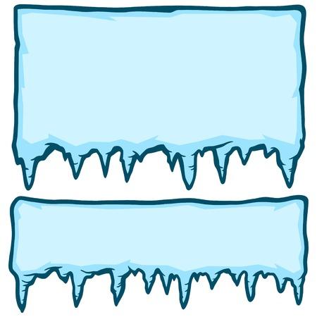 Ice Signs Ilustração