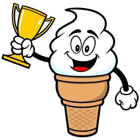 Ice Cream with Trophy