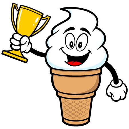 indulgence: Ice Cream with Trophy
