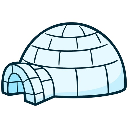 igloo: Igloo Illustration