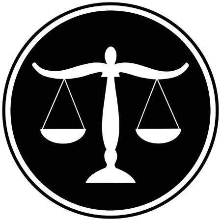 courthouse: Justice Scales Symbol