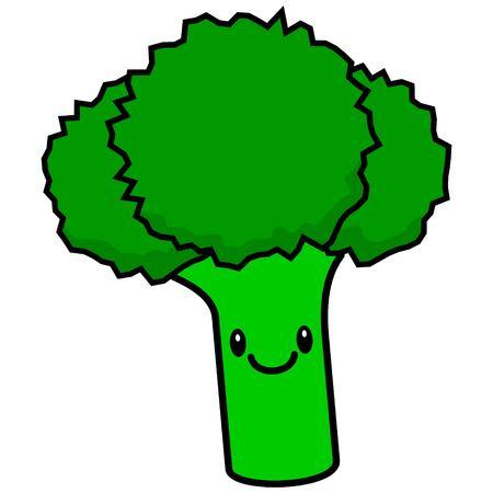 antioxidant: Kawaii Broccoli