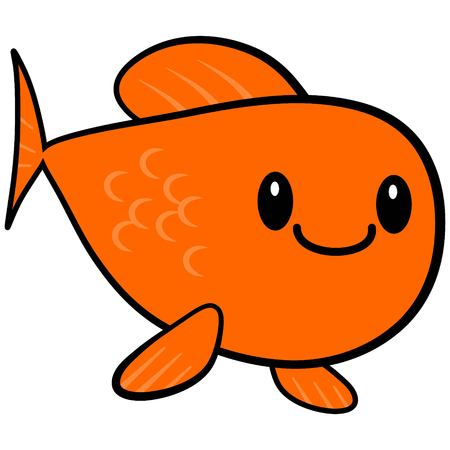 kawaii: Kawaii Goldfish