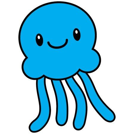 tentacle: Kawaii Jelleyfish