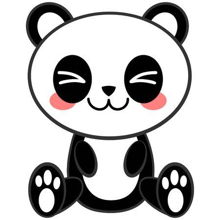 かわいいパンダ 写真素材 - 57677787