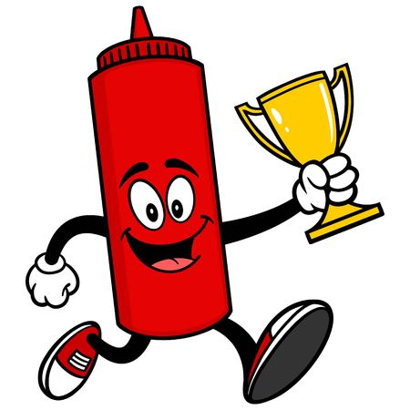 catsup: Ketchup Running with a Trophy