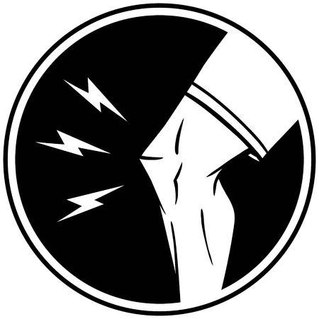 dolor de rodilla: Lesión de rodilla insignias