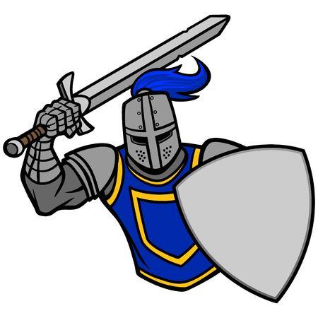 Knight Attack Ilustrace