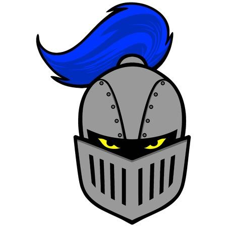 Knight Mascot Illustration