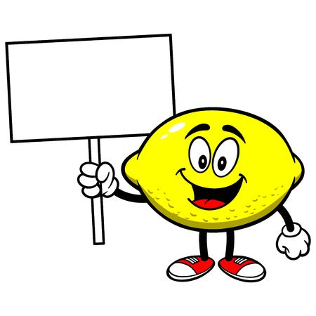 Lemon with Sign