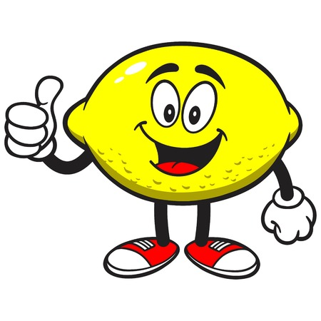 Lemon with Thumbs Up