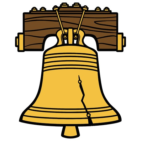 liberty bell: Liberty Bell Illustration
