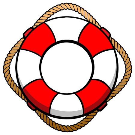 Lifebuoy Illusztráció