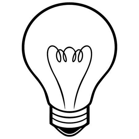halogen: Light Bulb Illustration