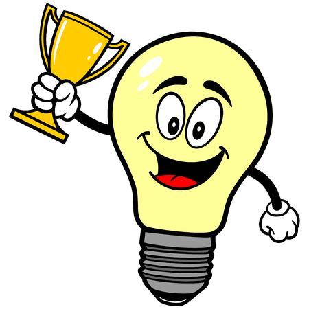 luminance: Light Bulb with Trophy
