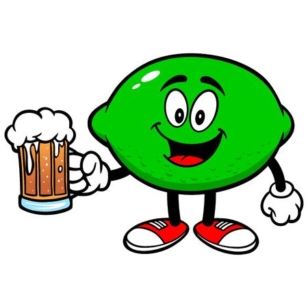 Lime with Beer