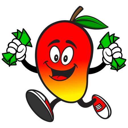 Mango with Money Иллюстрация